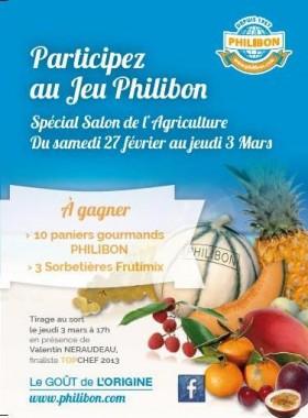 FLyer Jeu à l'occasion du Salon de l'agriculture 2016 à Paris