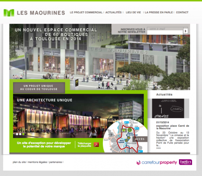 site les maourines