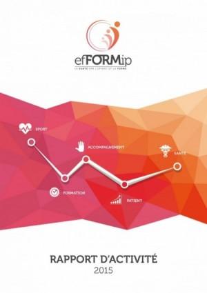 Rapport d'activité association efFORMIP par alégria communication